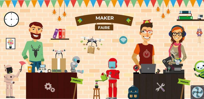 Encuentro de makers en las ferias Movimiento maker