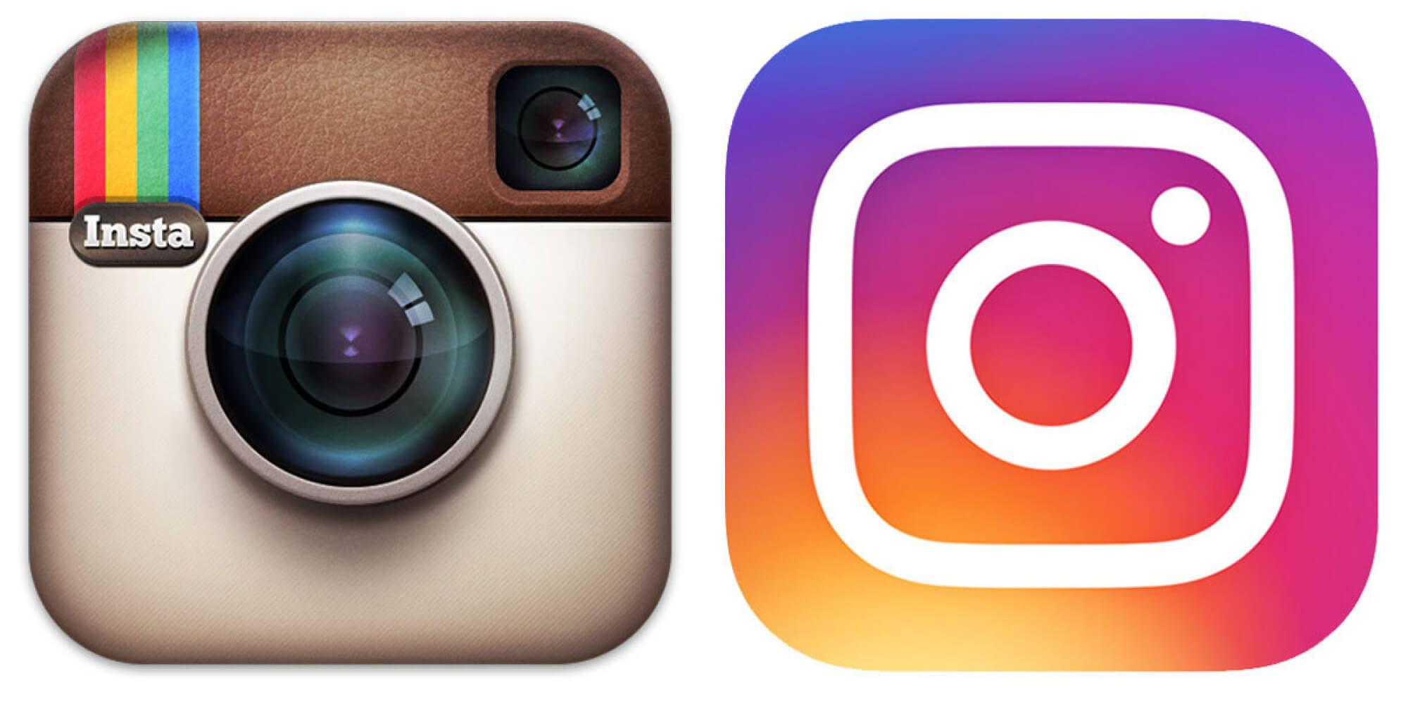 Cambio de logotipo de Instagram