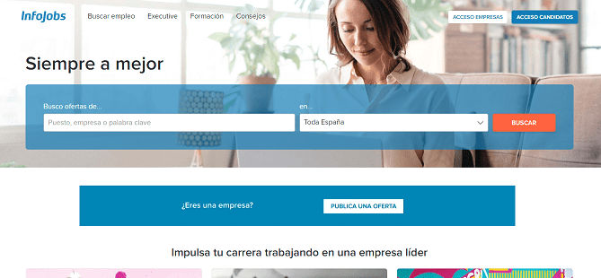 Infojobs el mejor portal de empleo