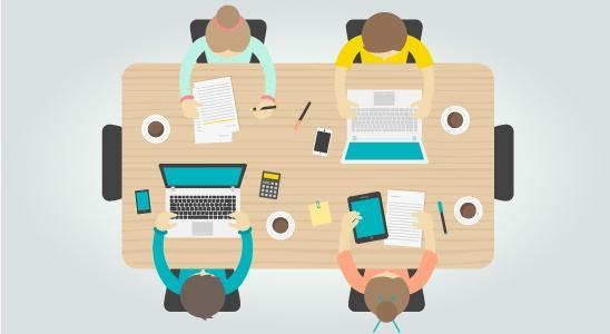 La formación presencial y el trabajo colaborativo