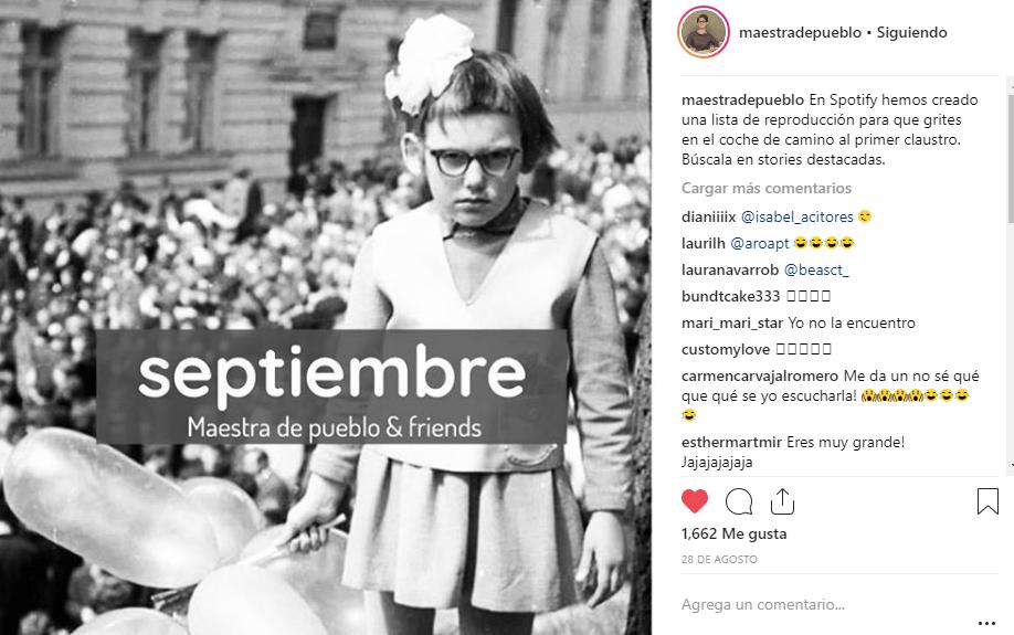 Instagram Maestra de Pueblo