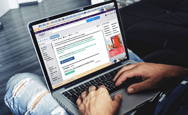 Un mail marketing de aspecto sencillo puede ser muy eficaz