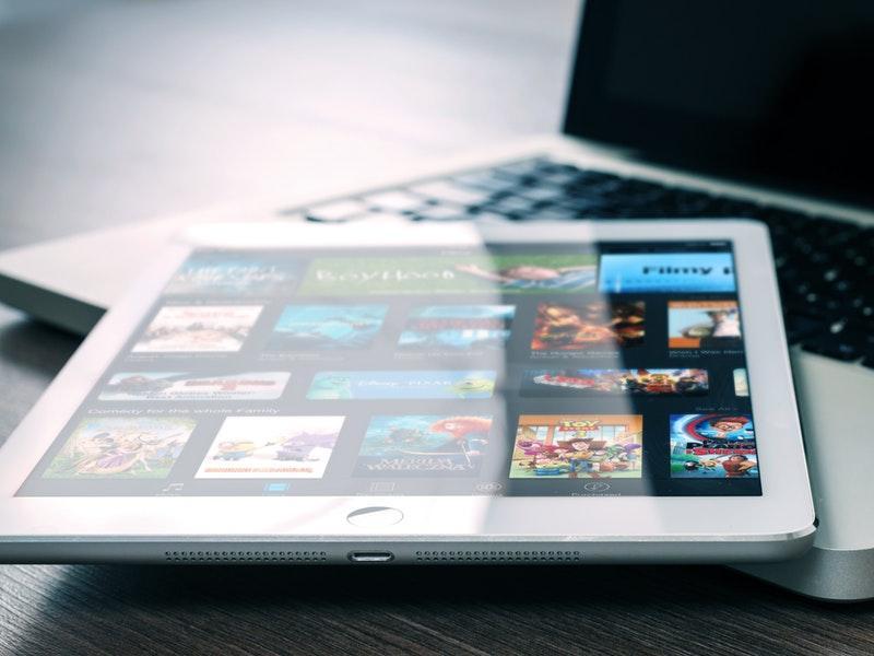 trabajo con tablet y ordenador
