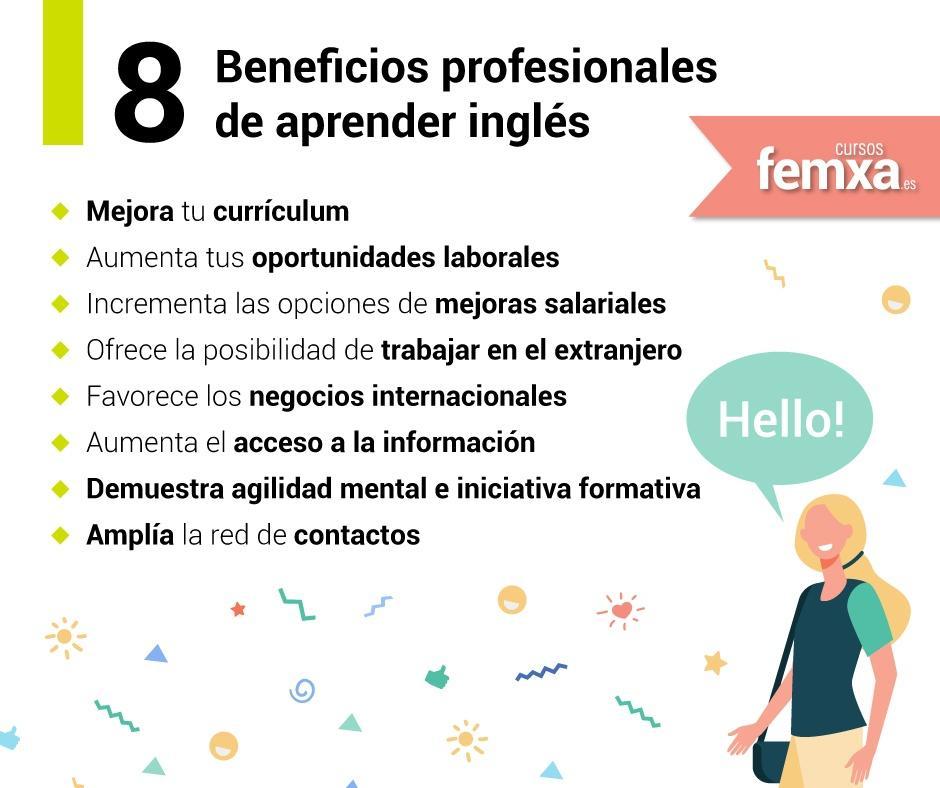 beneficios profesionales de aprender inglés