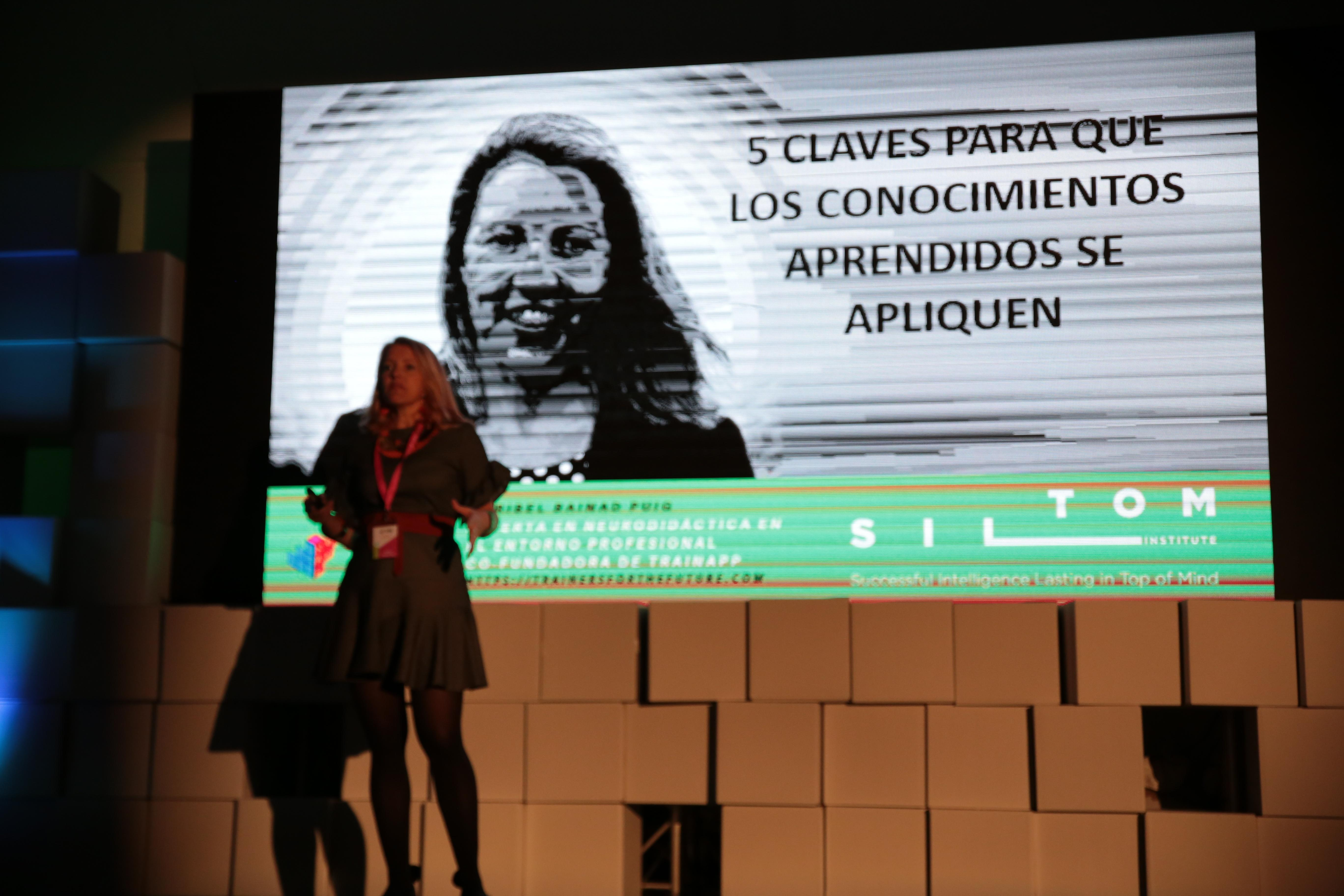 Ponencia de Maribel Bainad en Trainers for the future 2018