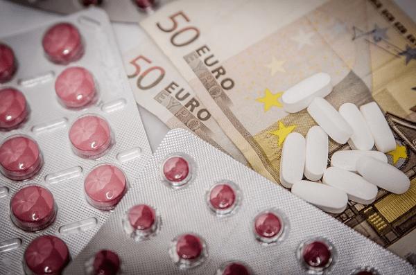 Precio de los medicamentos y atención en accidentes en el trabajo
