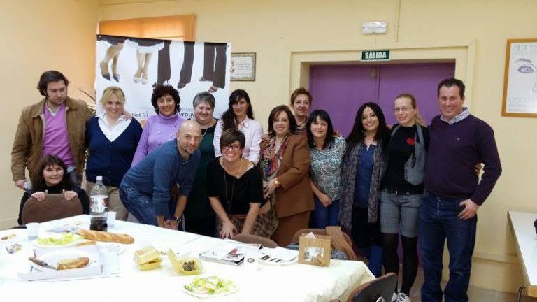 Reunión de asociados de la asociación de mujeres empresarias de Getafe