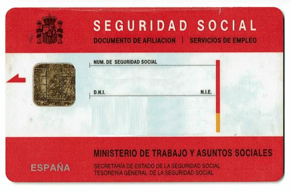 Tarjeta de la seguridad social