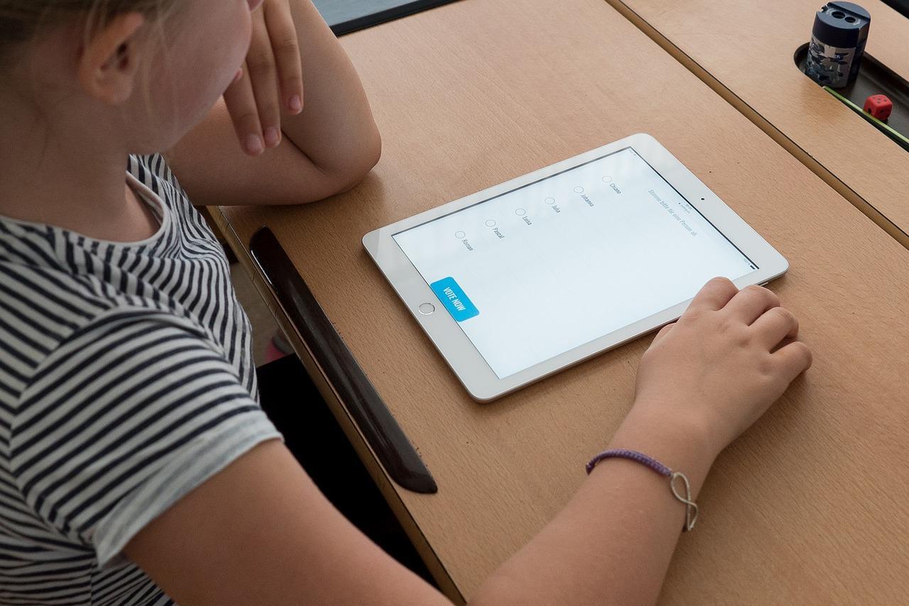 La tablet en el aula