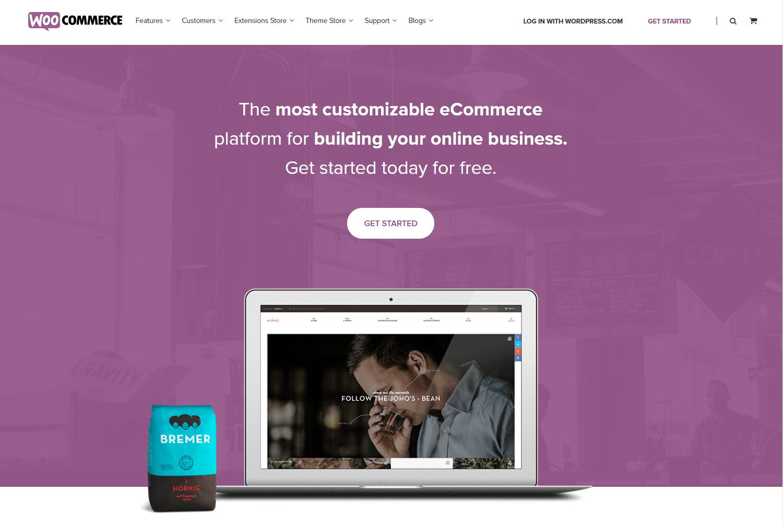 Plataforma WooCommerce para crear una tienda virtual