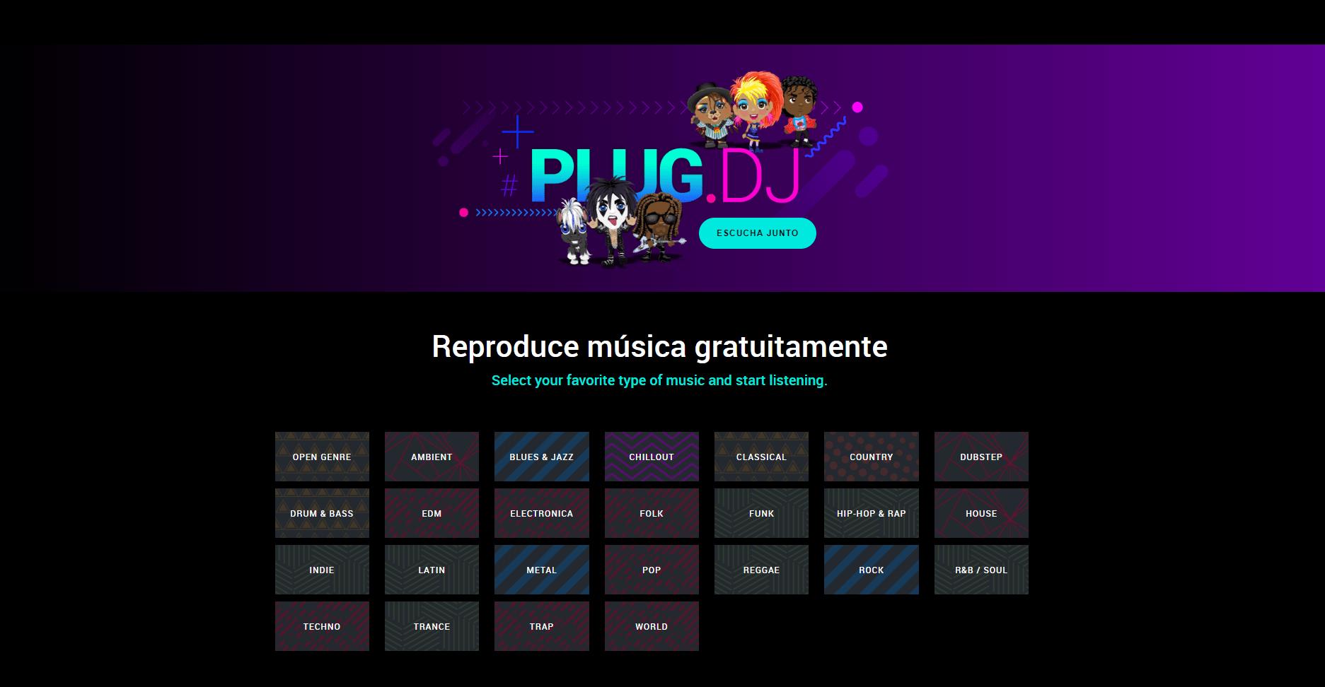Plataforma música