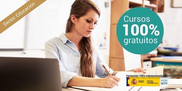 acceso a cursos subvencionados del sector educación