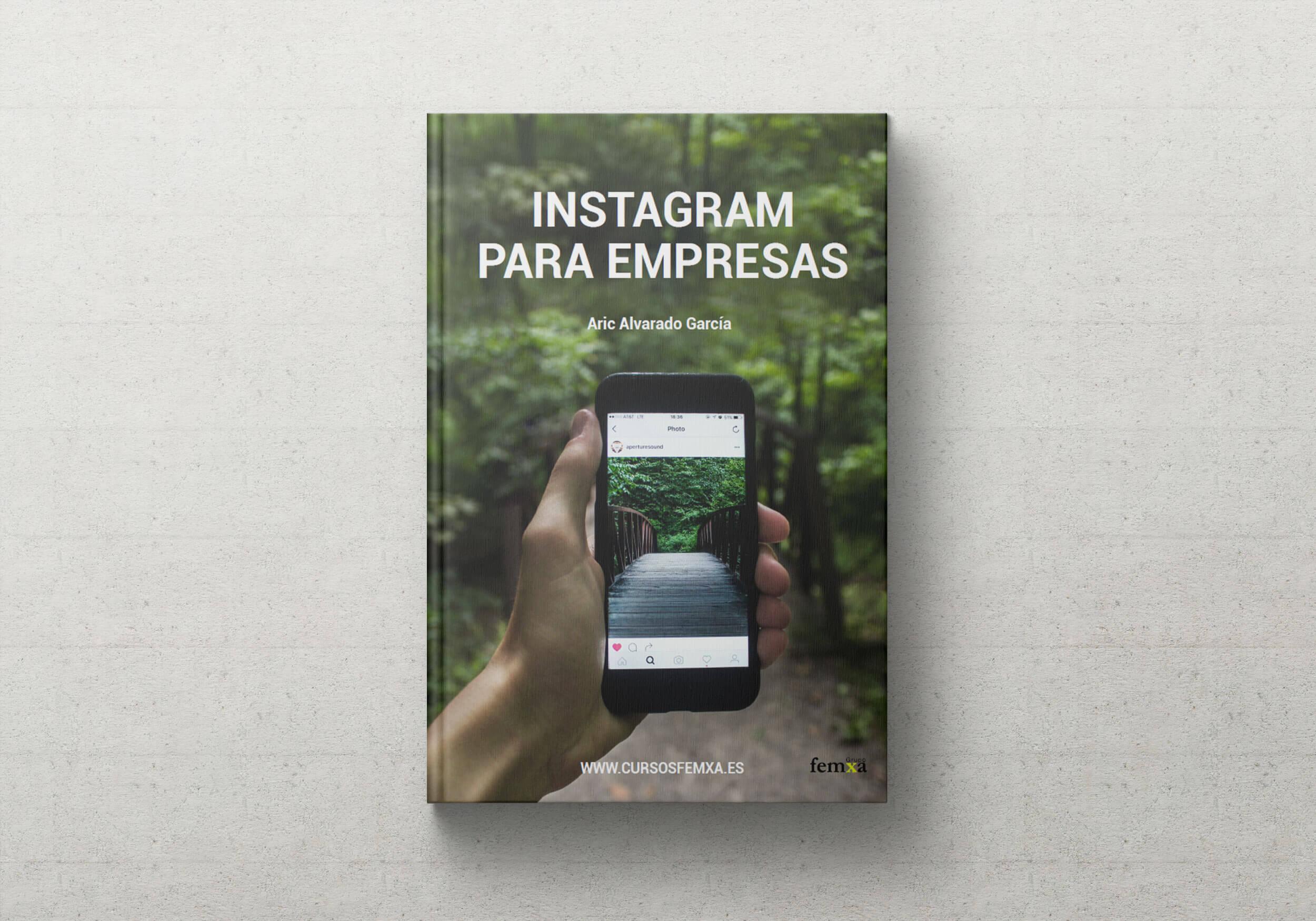 Portada del ebook Instagram para empresas