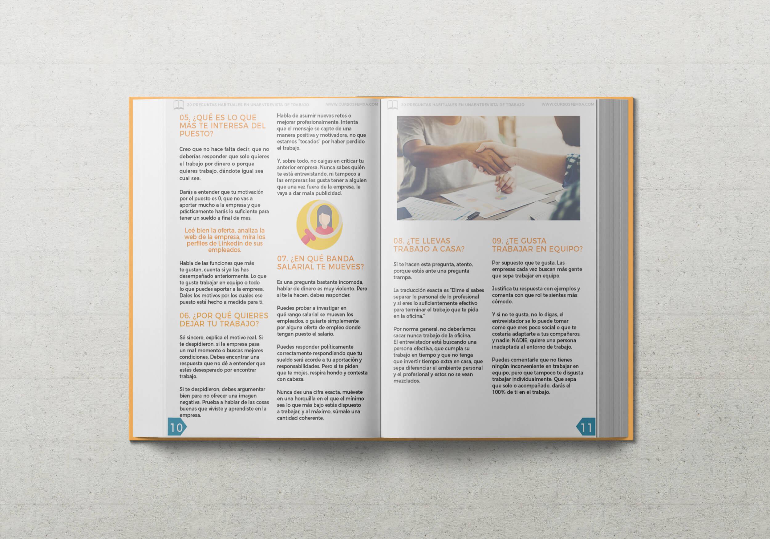 ebook 20 preguntas entrevista de trabajo - interior