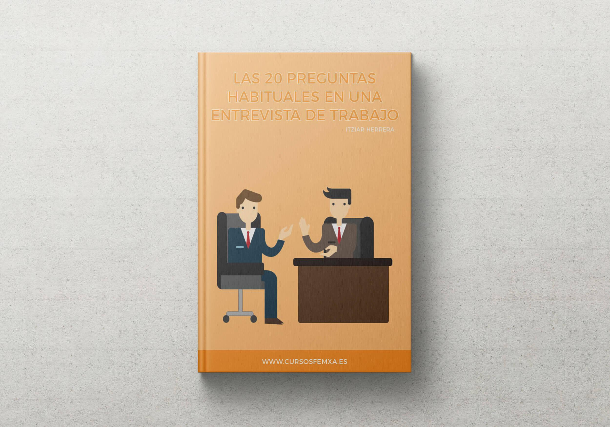 ebook 20 preguntas entrevista de trabajo