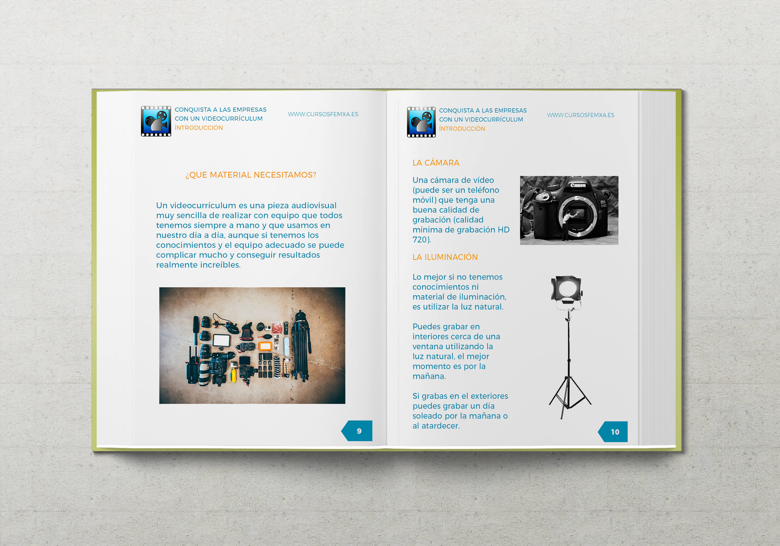Guía de grabacion de un videocurriculum