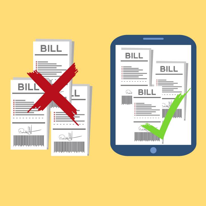 paso de facturación en papel a facturación electrónica