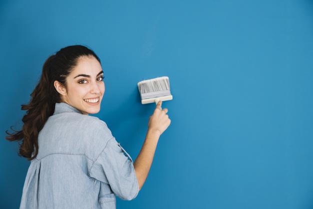 pintar la vivienda