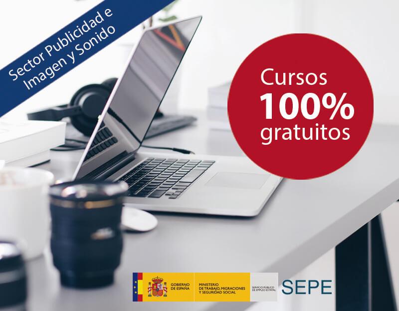 Cursos online gratuitos para trabajadores del Sector Publicidad e Imagen y Sonido