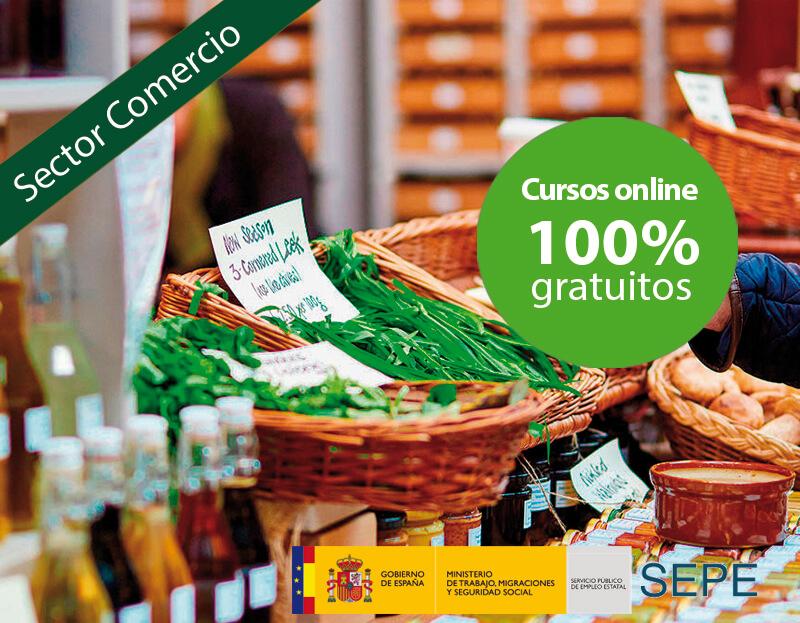 Cursos online gratuitos para trabajadores del Sector Comercio y Marketing