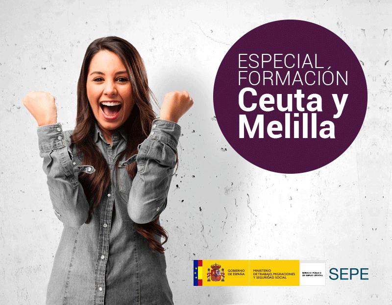 Cursos online gratuitos - Ceuta y Melilla