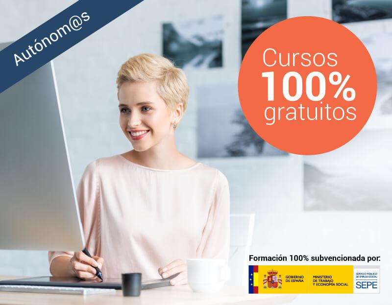 Cursos online gratuitos para Autónomos de cualquier sector profesional