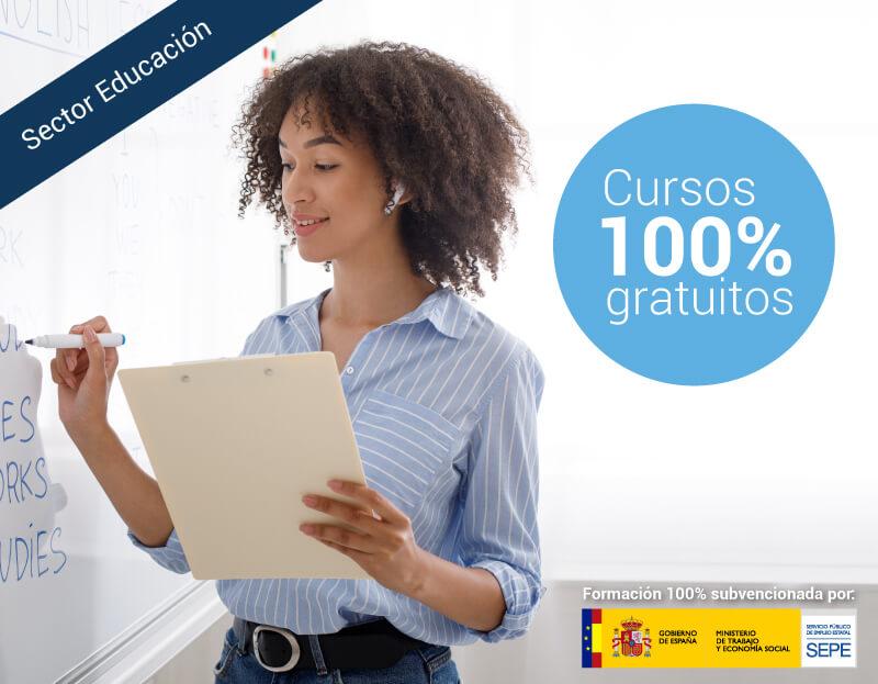 Cursos online gratuitos para trabajadores del Sector Educación