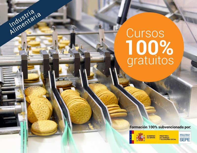 Cursos online gratuitos para trabajadores del Sector Industria Alimentaria