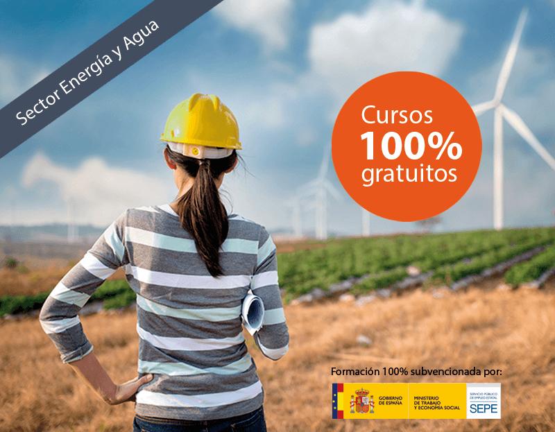 Cursos online gratuitos para trabajadores del Sector Energía y Agua