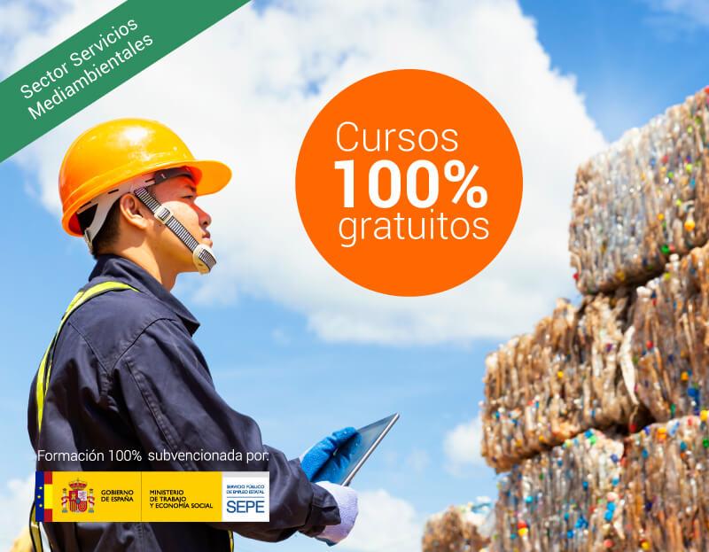 Cursos online gratuitos para trabajadores del Sector Servicios Medioambientales