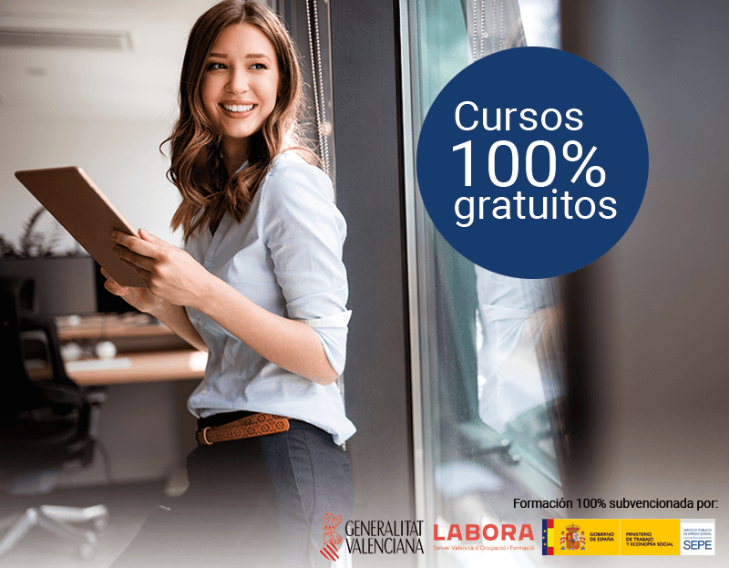 Cursos gratuitos para trabajadores y autónomos de Alicante y Castellón