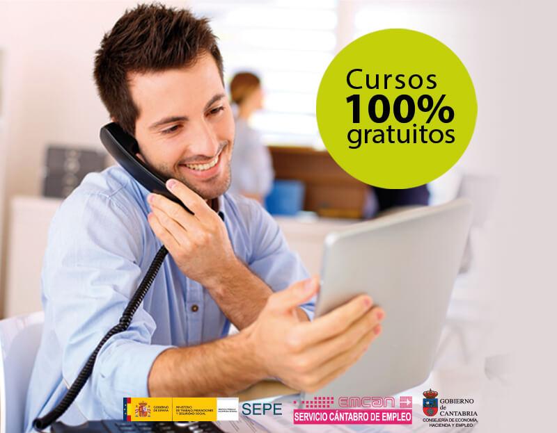 Cursos gratuitos para trabajadores y autónomos de Cantabria