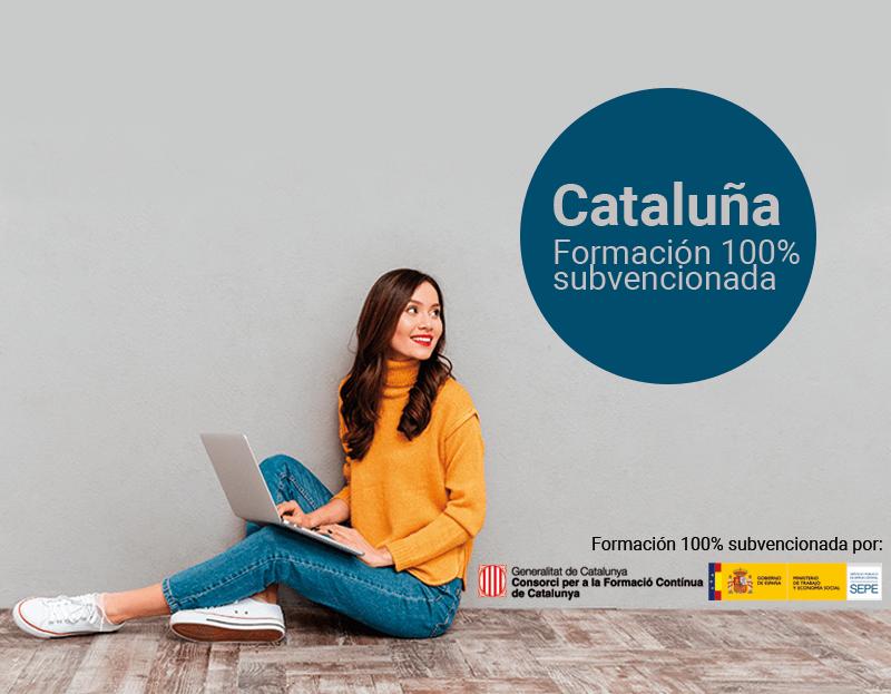Cursos online 100% subvencionados - Cataluña