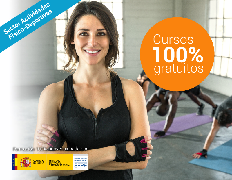 Cursos online gratuitos para trabajadores del Sector Actividades Físico-Deportivas