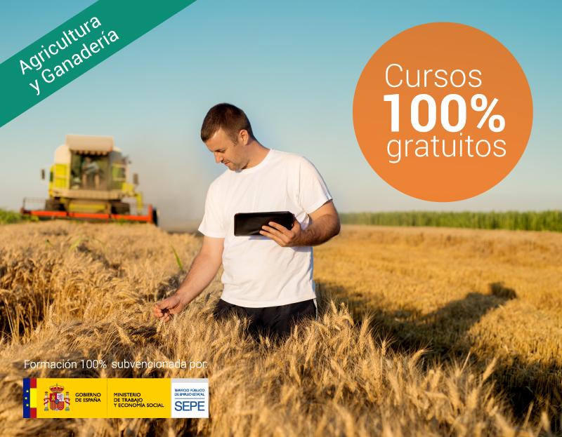 Cursos online gratuitos para trabajadores del Sector Agricultura, Ganadería y Forestal
