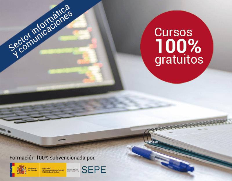 Cursos online gratuitos para el Sector Informática y Comunicaciones
