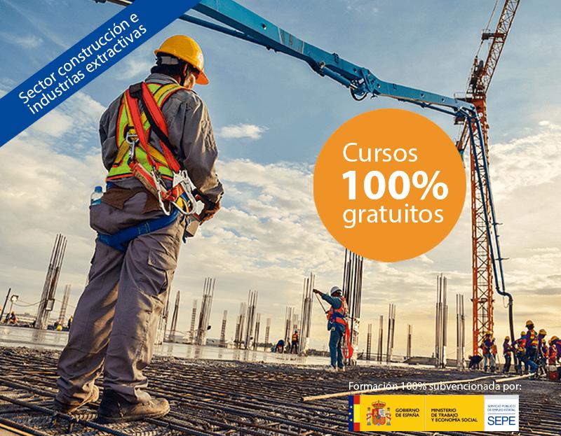 Cursos online gratuitos para trabajadores del Sector Construcción e Industrias Extractivas