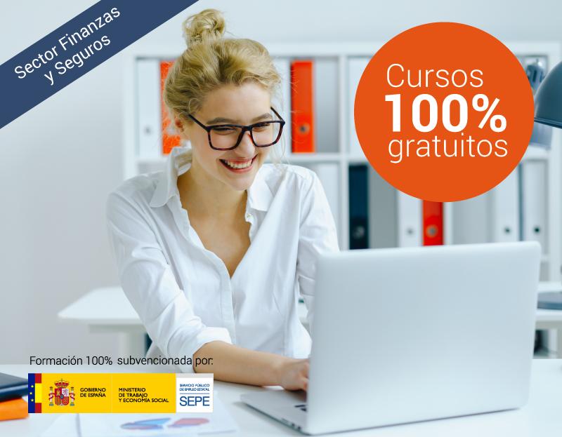Cursos online gratuitos para trabajadores del Sector Finanzas y Seguros