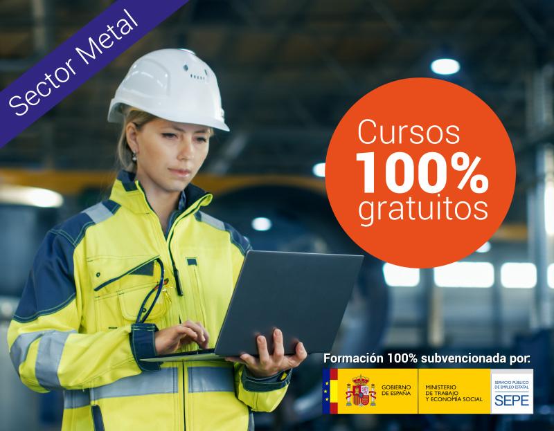Cursos online gratuitos para trabajadores de Metal
