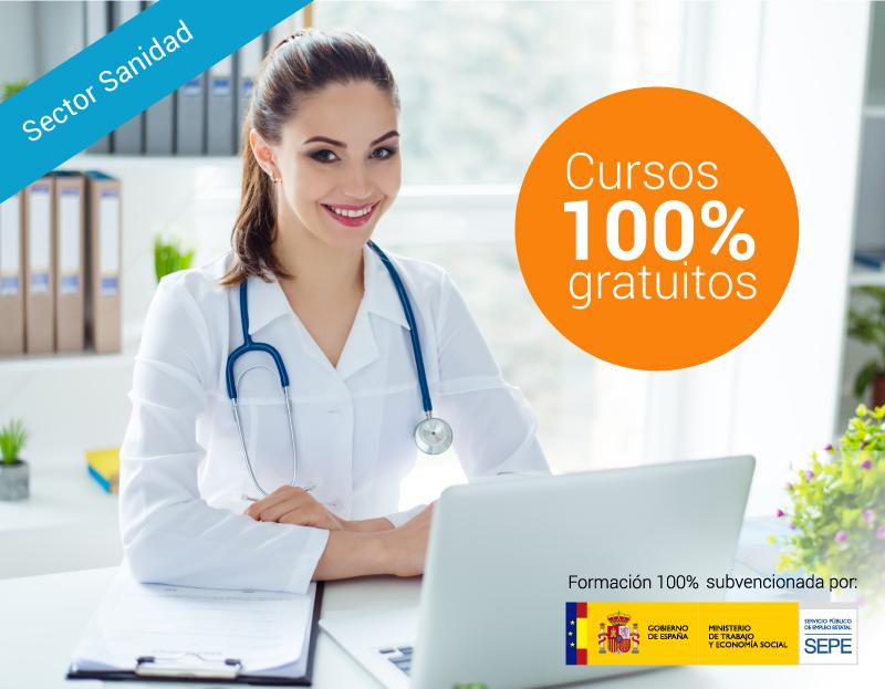 Cursos online gratuitos para trabajadores del Sector Sanidad