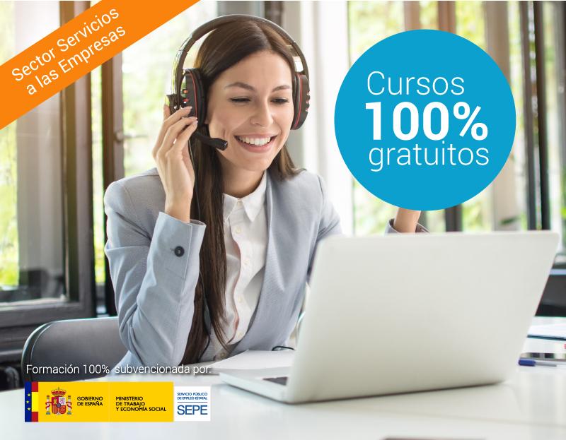 Cursos online gratuitos para trabajadores de Servicios a las Empresas