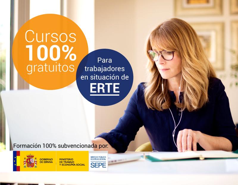 Cursos TIC para Trabajadores en ERTE