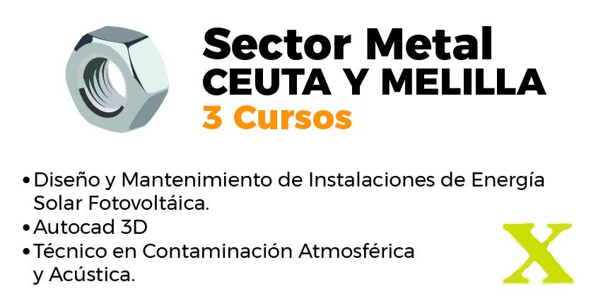 Cursos del inem en Ceuta y Melilla sector metal