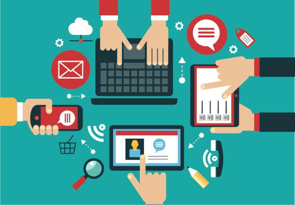 dispositivos conectados a la red con webs programadas en html