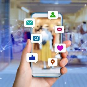 Social media marketing en comercio - Santos Mártires