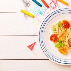 Diseño de menús infantiles - Academia Elisa