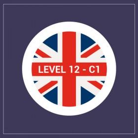 Curso gratuito de inglés C1- nivel 12