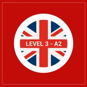 Curso privado de inglés nivel 3 - A2