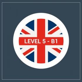 Curso gratuito de inglés B1- nivel 5