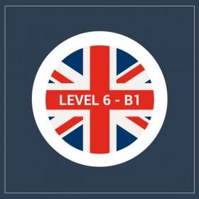 Curso gratuito de inglés B1- nivel 6